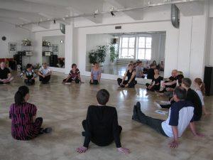 Koulutuksen osallistujat osallistuvat koulutukseen