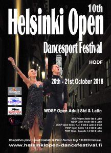Helsinki Open -tapahtuman mainosjuliste