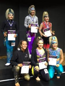 Disco Dancen aikuisten finalistit palkintoineen