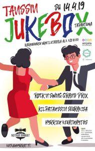 Tanssin Jukebox -tapahtuman mainos