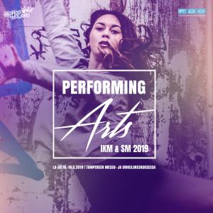 Mainoskuva Performing arts IKM & SM 2019