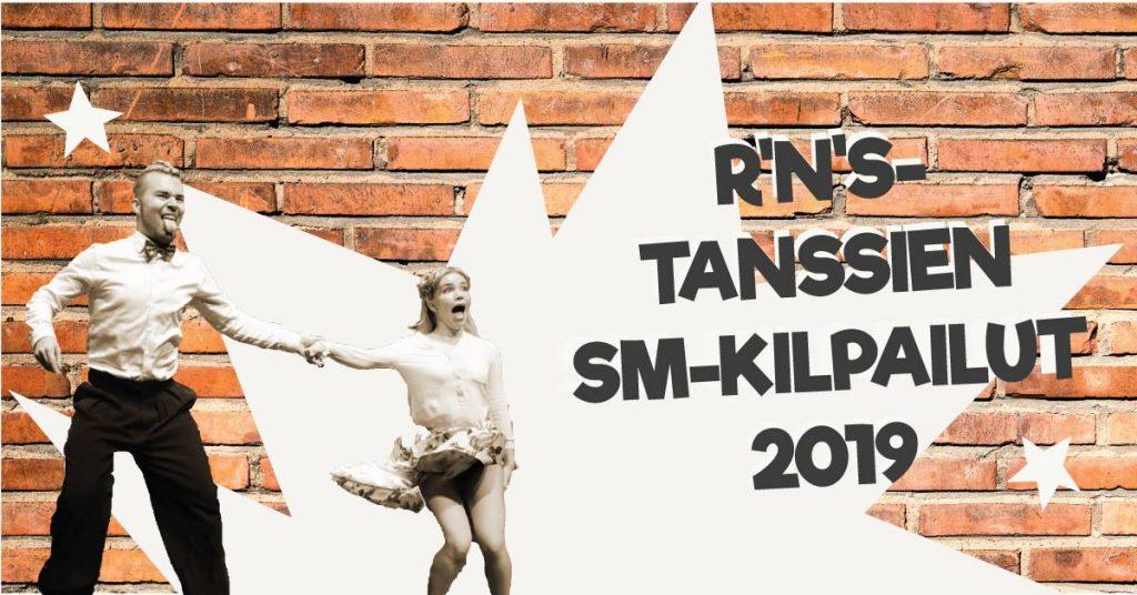 Mainos R'n's-tanssien SM-kilpailut 2019