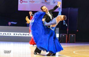 Jouko ja Heljä Leppälä tanssin pyörteissä
