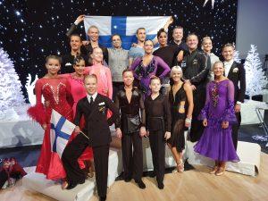 Suomen joukkuetta Oslossa