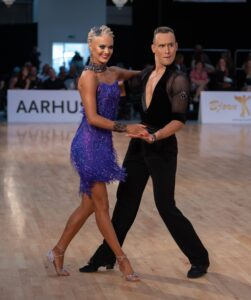 Gleb Bannikov - Ada Varstala 2020 WDSF European Ten Dance Championship Aarhus Tanska 19.9.2020