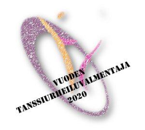 Vuoden Tanssiurheiluvalmentaja 2020 -logo