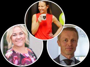 Maria Kangasaho, Sanna Hento ja Mika Honkanen ovat mukana Vuoden Tanssiurheiluvalmentaja 2020 -äänestyksessä.