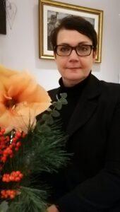 Tanssiurheiluliiton puheenjohtaja 2021-2022 Leena Liusvaara