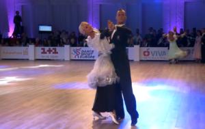 Gleb Bannikov - Ada Varstala, 2021 WDSF European Ten Dance Championship, Kiova (UKR)