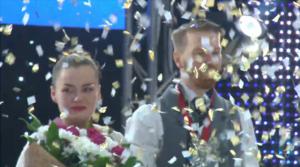Anna Tyutyunyuk ja Masi Saurén maailmanmestareina kultahippusateessa